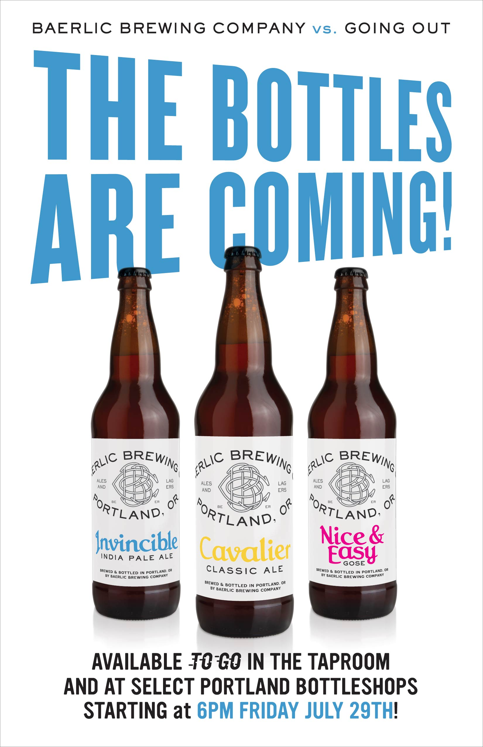 The Bottles Are Coming!